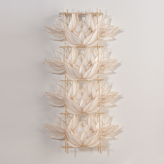 Pat Campbell Rice paper wall sculpture  style=