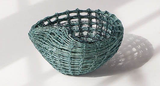 Rachel Max Rippled Basket No.2
