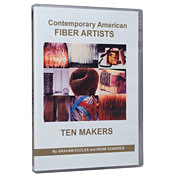Video #d10/ (DVD) Contemporary American Fiber Artists: TEN MAKERS