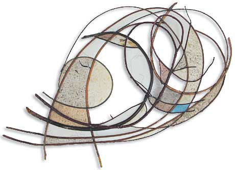 Jane Balsgaard wall sculpture